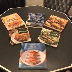 WILLIAMS-SONOMA Cookbook Lot of 6